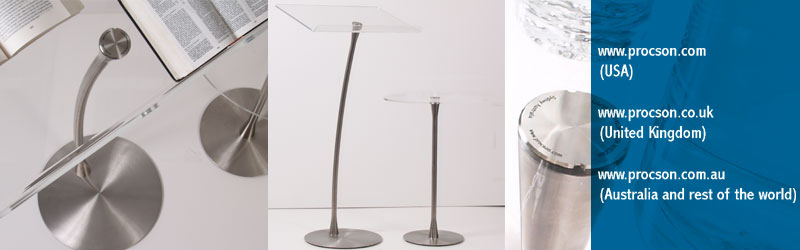 Modern, stylish, minimalist lecterns for contemporary churches from Milan award winning designer Stephen Procter